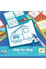 Djeco Tekenkaarten step by step Arthur & Co