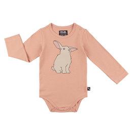 CarlijnQ Rabbits - bodysuit with print