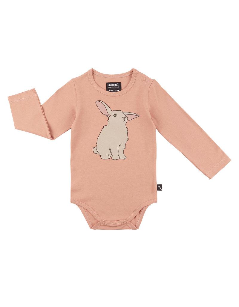 CarlijnQ Rabbits - bodysuit with print 50/56
