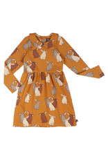 CarlijnQ Rabbits - skater dress with collar