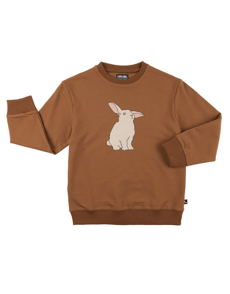 CarlijnQ Rabbits - sweater with print