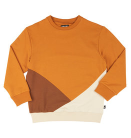 CarlijnQ Basics - sweater block (multi brown)