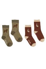CarlijnQ Socks - SET of 2: Boris + Goose