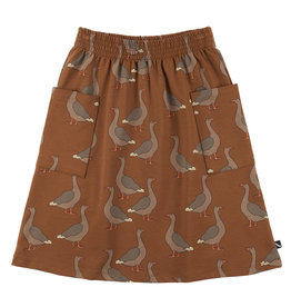 CarlijnQ Goose - midi skirt with pockets