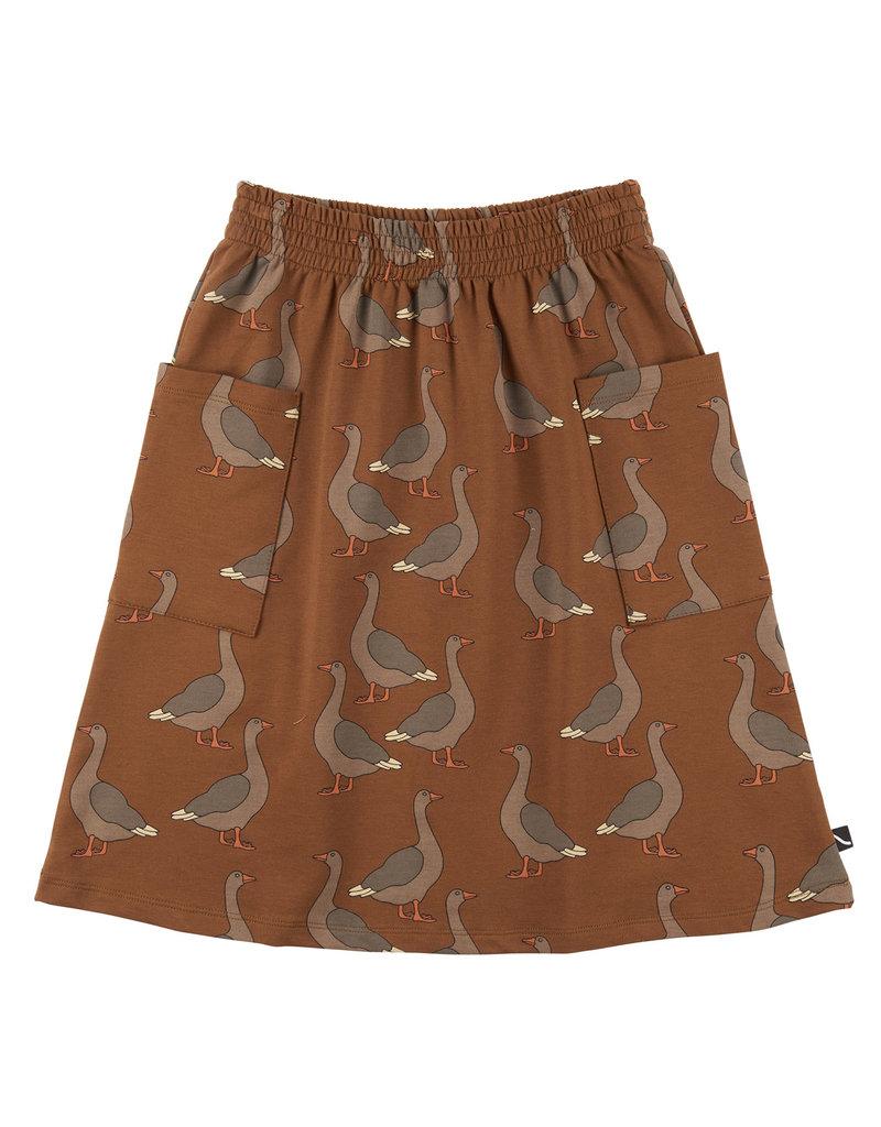 CarlijnQ Goose - midi skirt with pockets