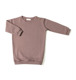 Nixnut Sweat Dress Mauve