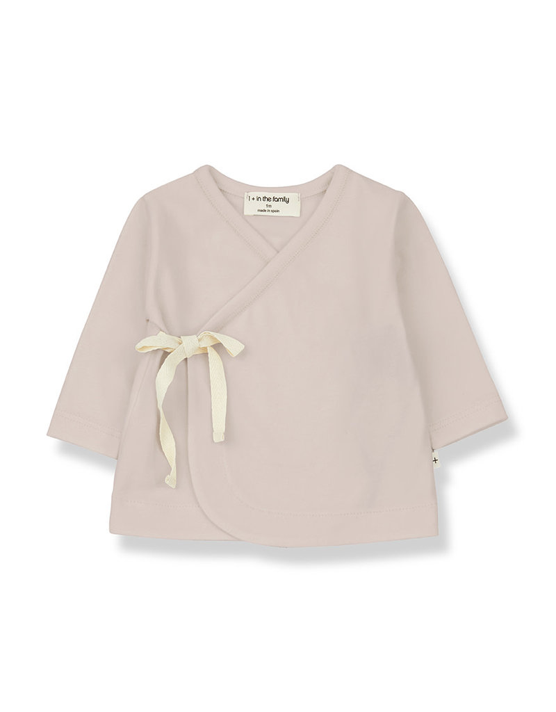 1+ in the family Babette newborn shirt nude
