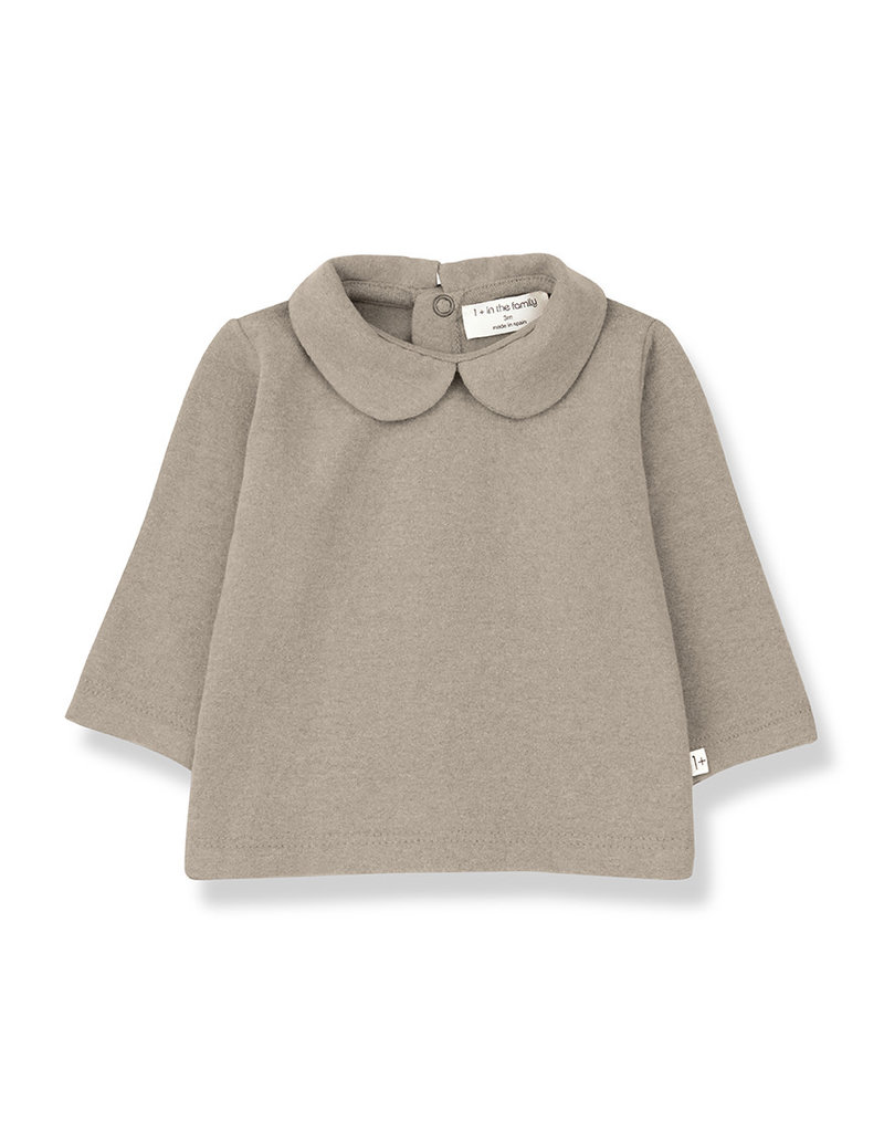 1+ in the family Pineta blouse beige