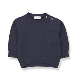 1+ in the family Salardu sweatshirt blue notte