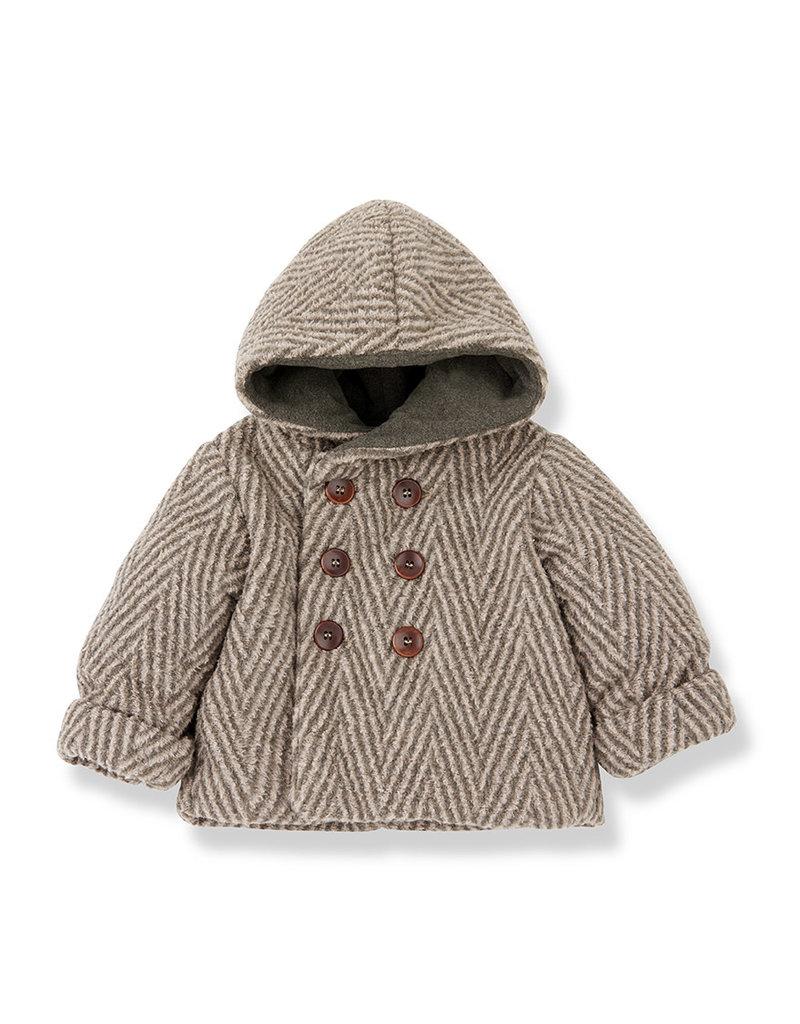 1+ in the family Pollino hood jacket rose/terrau