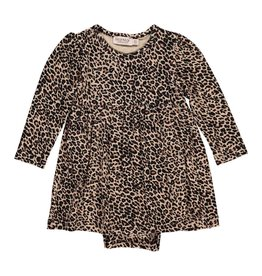 MarMar Copenhagen Leopard Dress Brown