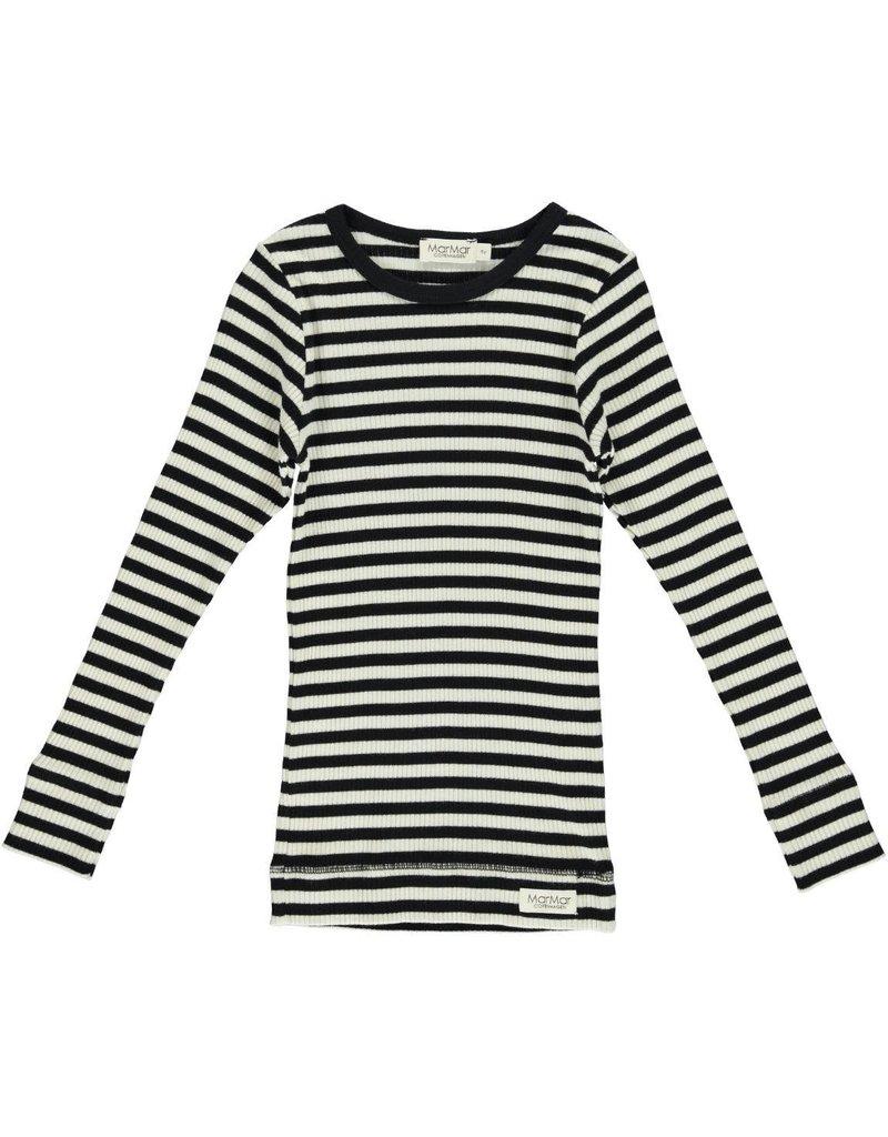 MarMar Copenhagen Longsleeve Black/Off White