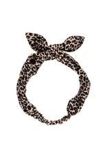 MarMar Copenhagen Leopard haarband Brown