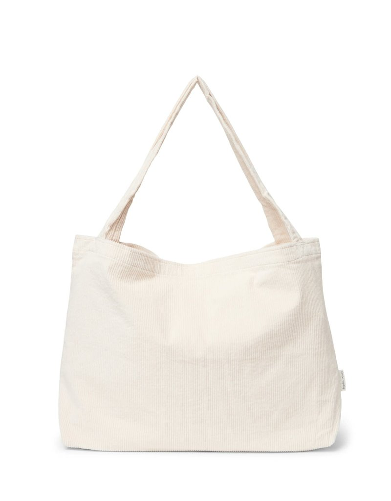 Studio Noos Old white rib mom-bag