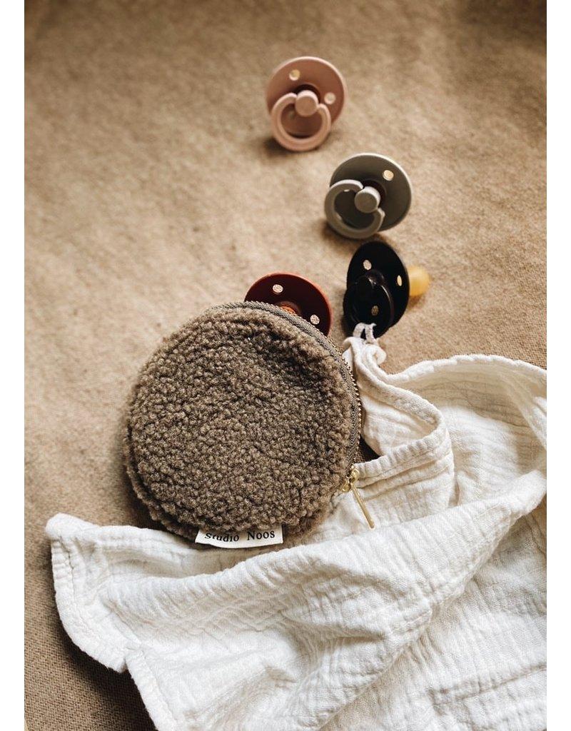 Studio Noos Chunky Wallet brown