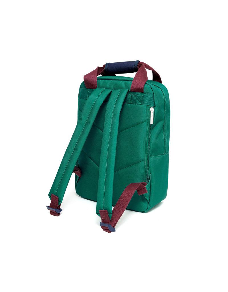 Petit Monkey Backpack cadmium green