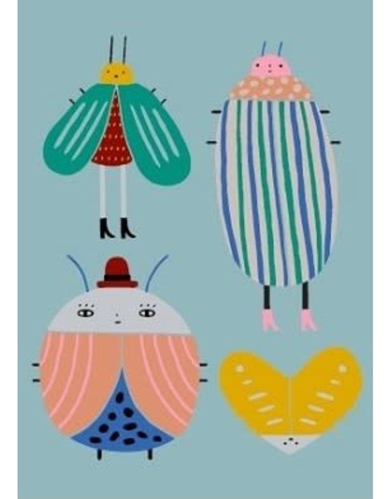 Petit Monkey Postcard Best buggies jade