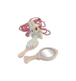 Pop Cutie Make-up Bunny Necklace