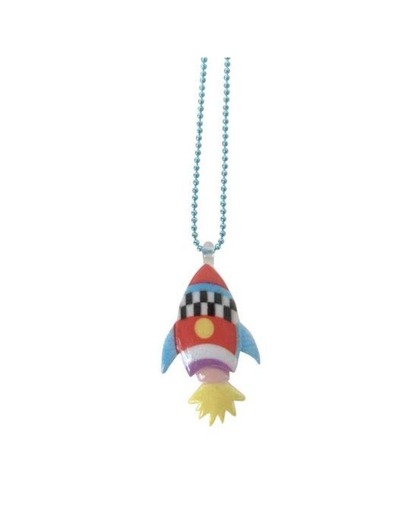 Pop Cutie Gacha Rocket Necklace