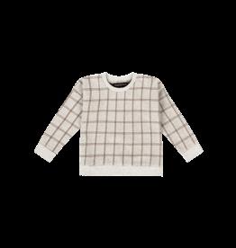House of Jamie Crewneck Sweater Tartan Stone