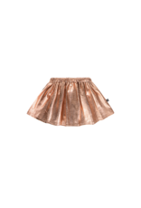 House of Jamie Metallic Skirt Rose Gold