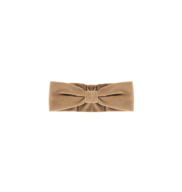 House of Jamie Bow Tie Headband Biscuit Velvet