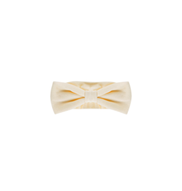 House of Jamie Bow Tie Headband Cream Velvet