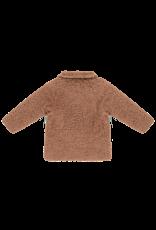 House of Jamie Teddie Collar Coat Hazel