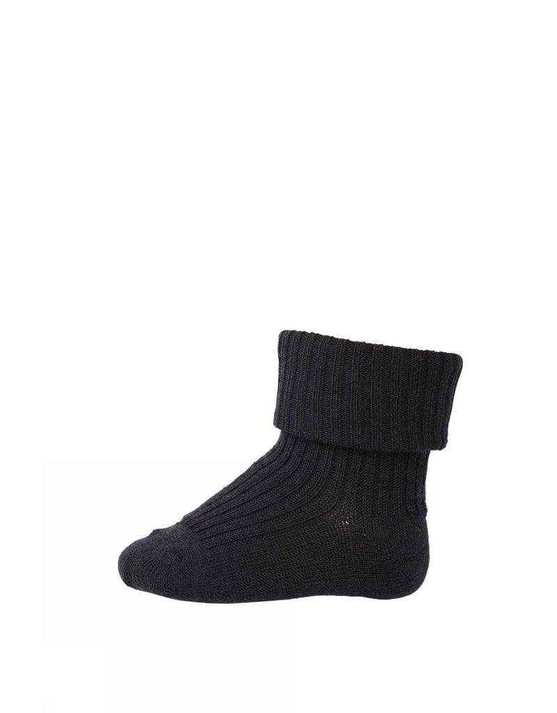 mp Denmark Baby Socks Blue Wool