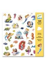 Djeco 160 Stickers Zeemeerminnen