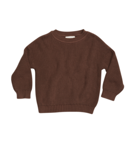 Blossom Kids Knitted Jumper Dark Chocolate