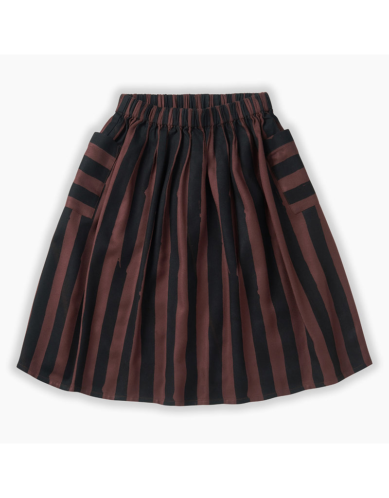 Sproet & Sprout Long Skirt Painted Stripe
