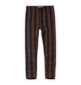 Sproet & Sprout Pants Painted Stripe Chocolate