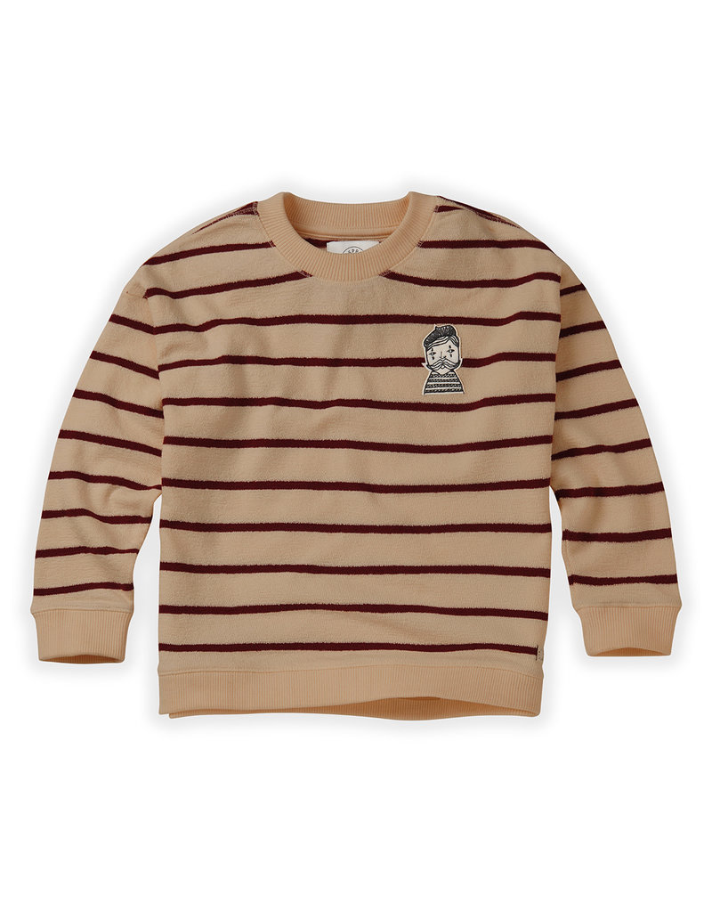 Sproet & Sprout Sweatshirt Loose Stripe