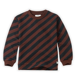 Sproet & Sprout Sweatshirt Painted Stripe