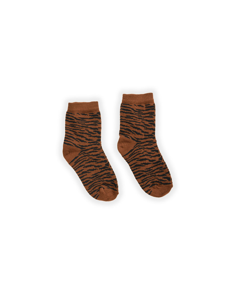 Sproet & Sprout Socks Tiger