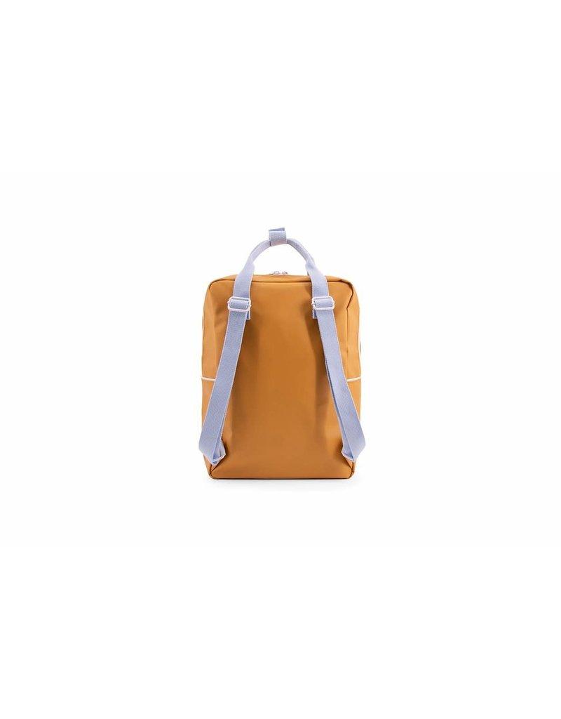 Sticky Lemon Backpack large caramel fudge + sky blue + pirate purple