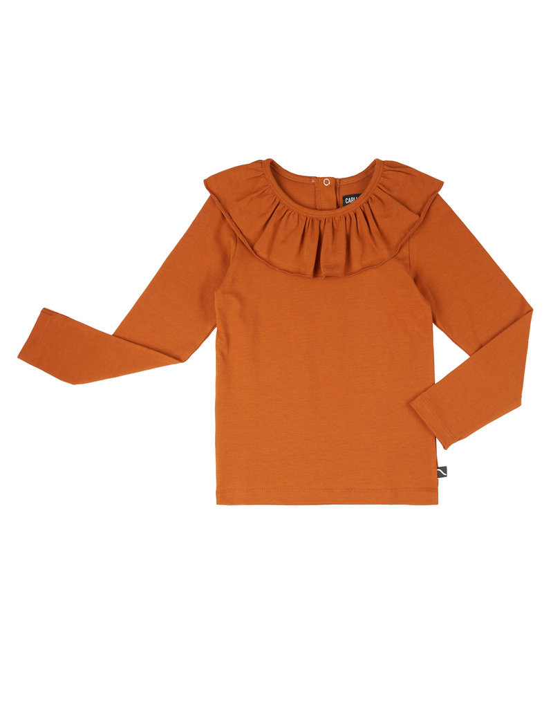 CarlijnQ Basics - longsleeve with big collar