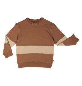CarlijnQ Basics - sweater block (brown)