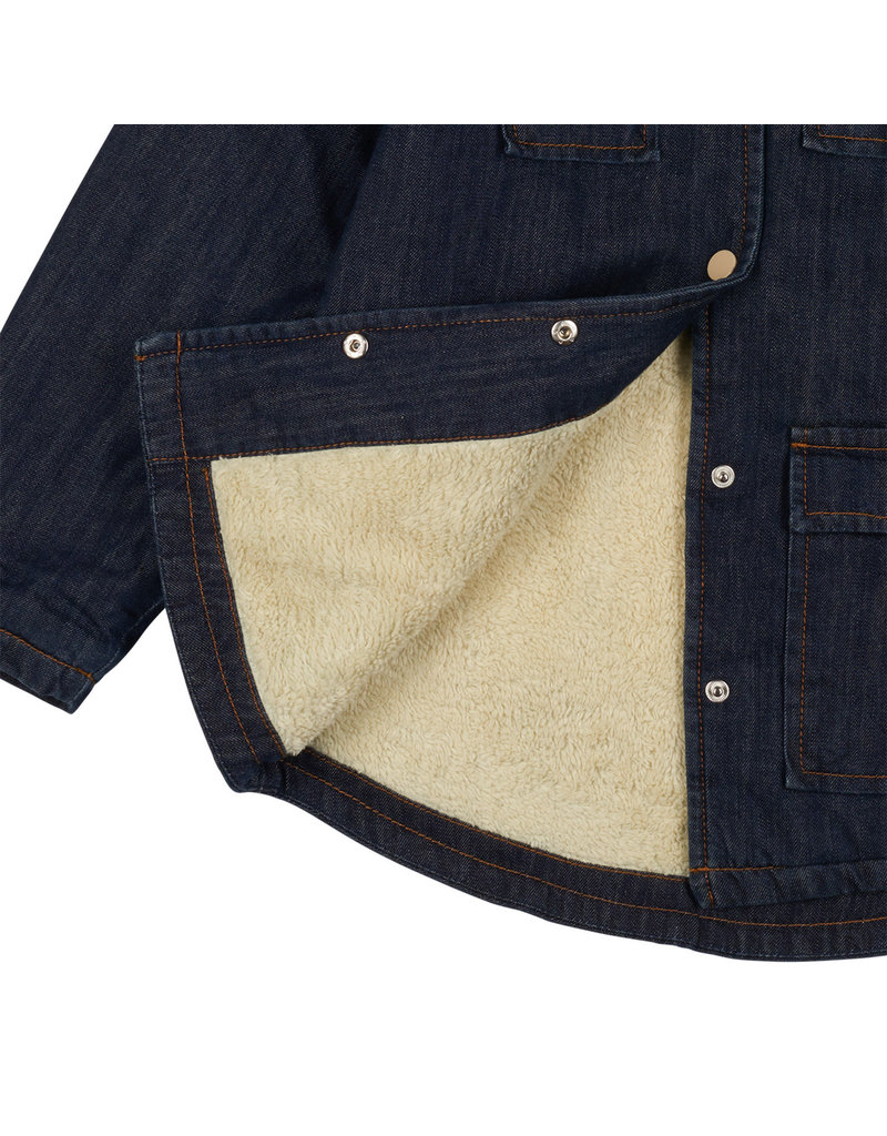 CarlijnQ Worker coat - blue 86/92 & 122/128