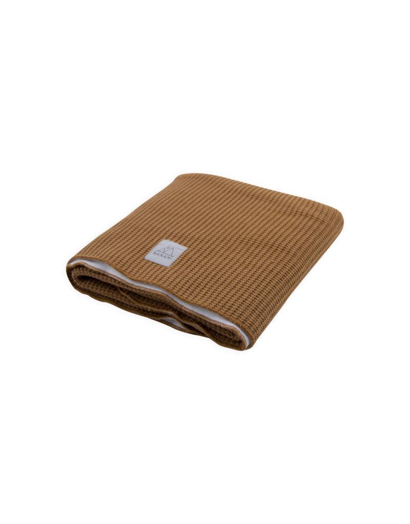 Nanami Knitted Blanket Crib Sand