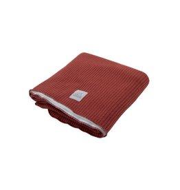 Nanami Knitted Blanket Crib Rust