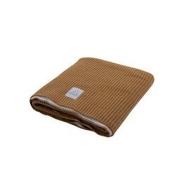 Nanami Knitted Blanket Cot Sand