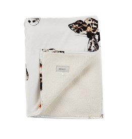 Mies & Co Teddy Crib Blanket Fika Butterfly