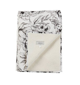 Mies & Co Teddy Cot Blanket Bumble Love