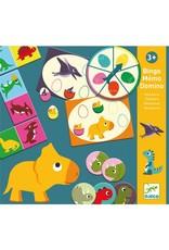 Djeco Bingo Memo Domino - Dinosaures