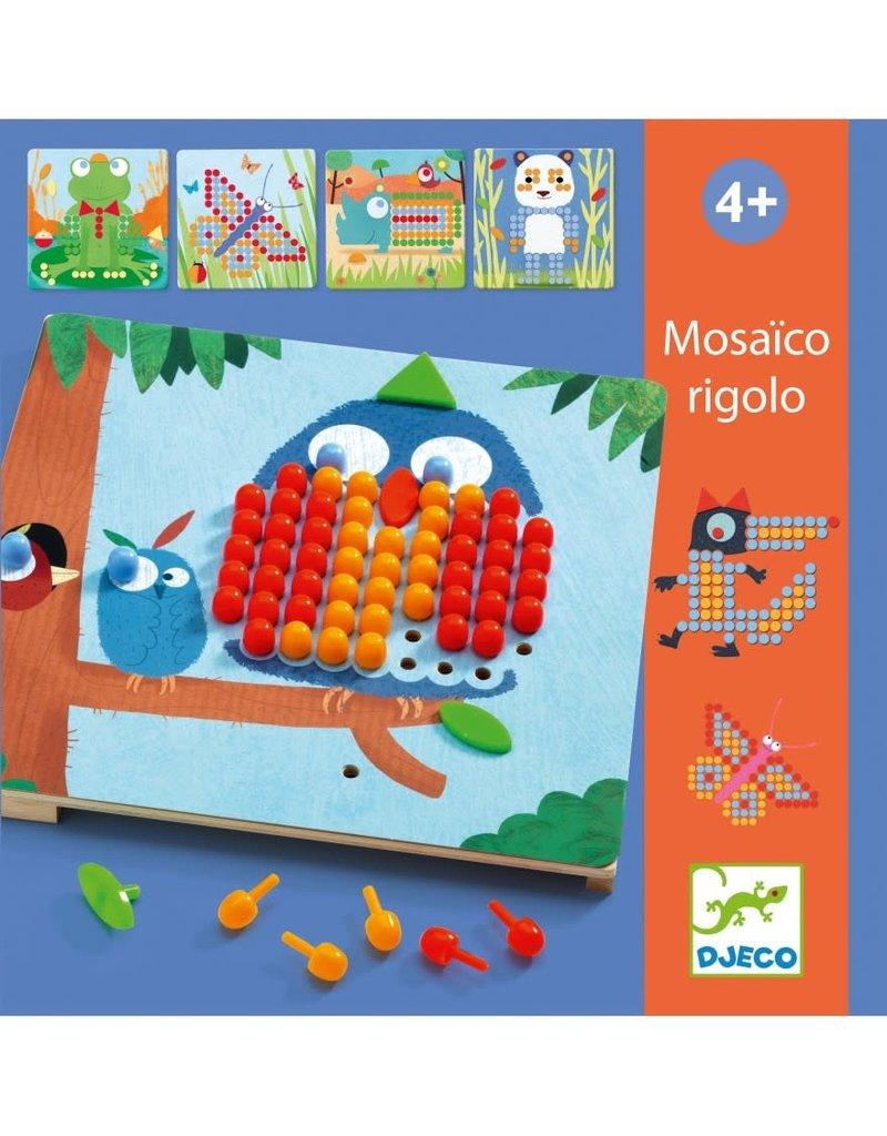 Djeco Mozaïekpuzzle Rigolo