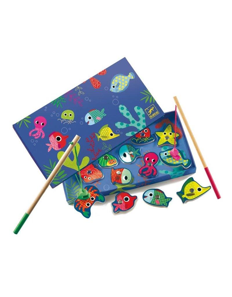 Djeco Magnetisch visspel kleurrijke vissen