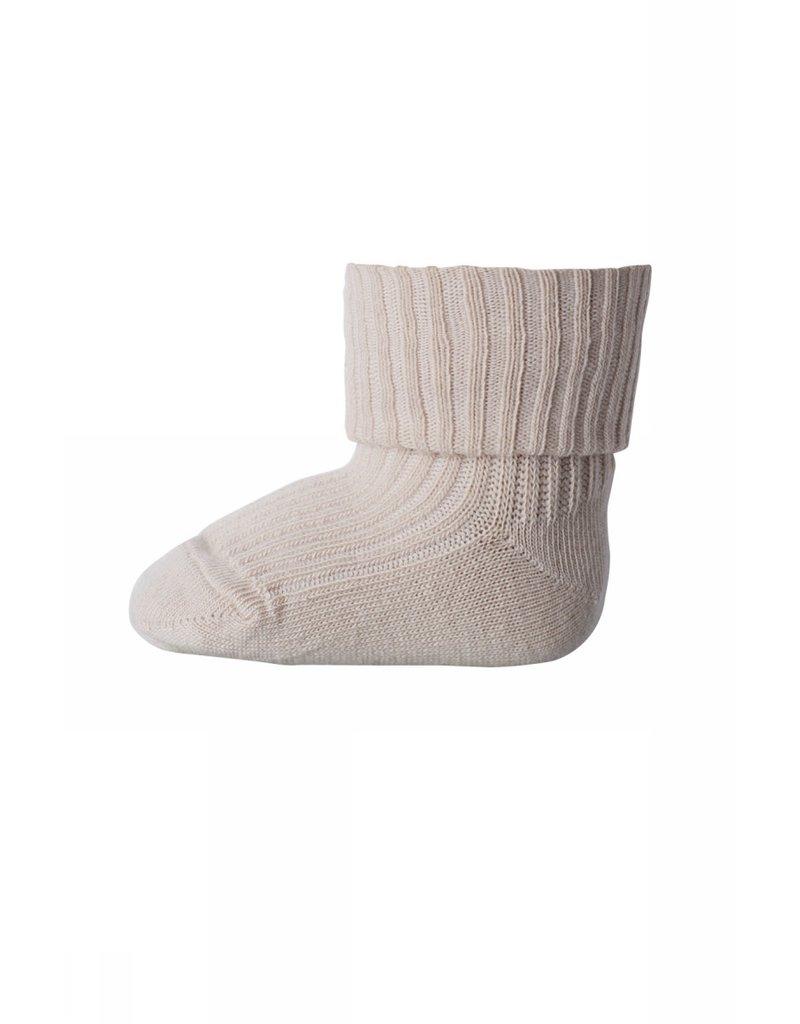 mp Denmark Cotton Rib Socks Rose 853