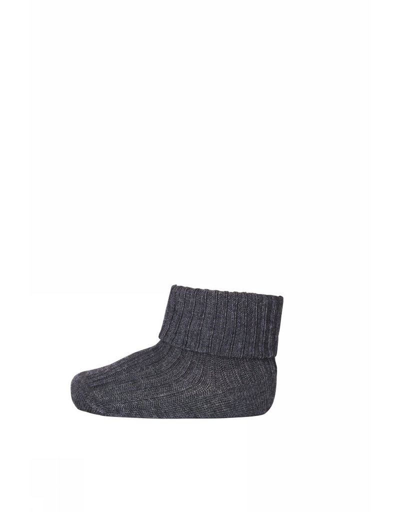 mp Denmark Baby Socks Dark Grey